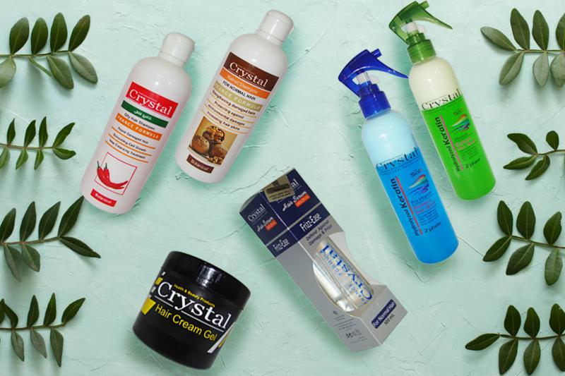 محصولات مراقبت موی برند کریستال