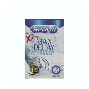 کاندوم شادو مدل Max Delay بسته ۱۲ عددی